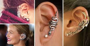 modelo Ear Cuffs