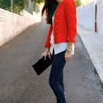 rojo y jeans